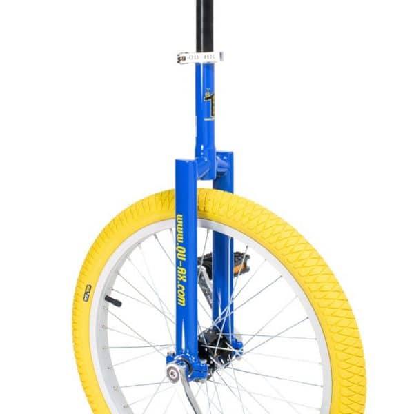 image illustrant le monocycle bleu luxus de la marque QU-AX