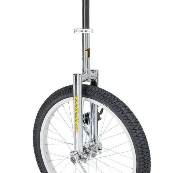 image illustrant le monocycle chrome luxus de la marque QU-AX