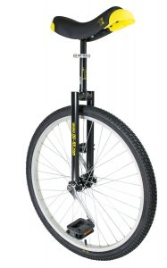 image illustrant le monocycle noir luxus de la marque QU-AX