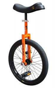 image illustrant le monocycle orange luxus de la marque QU-AX