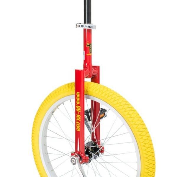image illustrant le monocycle rouge luxus de la marque QU-AX
