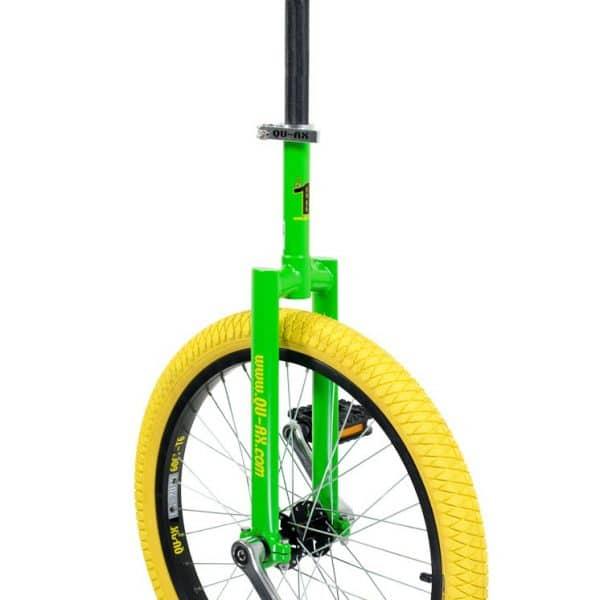 image illustrant le monocycle vert luxus de la marque QU-AX