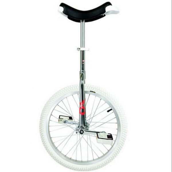 cette image représente le monocycle onlyone indoor chromé en 20''