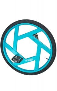 "image de la roue ultimate 24"" bleu"
