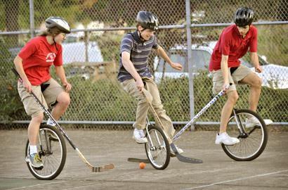Le monocycle apprendre en s'amusant
